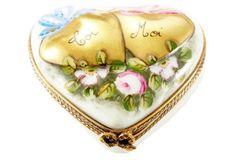 """""""Moi"""" & """"Toi"""" Heart Box"""