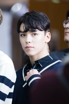 He is so cute af #hansol #vernon