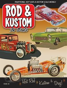 Other Publications: Rod & Kustom in Scale Issue #2, $12.00 from MagCloud