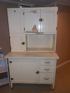 Redo Of An Antique Hoosier Cabinet Turned Into A Coffee