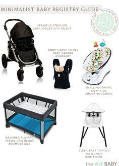 Minimalist Baby Registry Guide, version ii