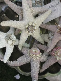 ideas: vintage jewelry star fish
