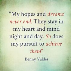 Benny Valdes Quotes
