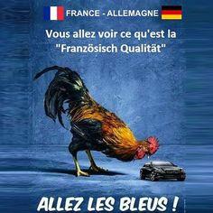 Ce soir on ne fait qu'une bouchée des allemands ! #FRAALL #allezlesbleus ! http://ift.tt/1JupD2h