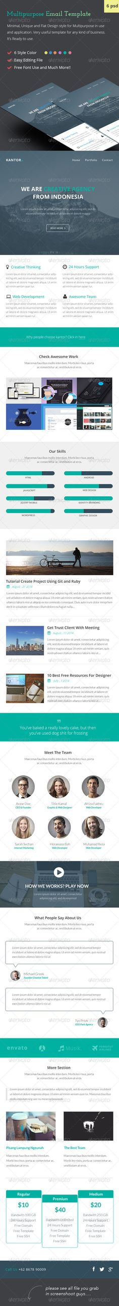 Free Email Newsletter Templates PSD Free email newsletter - free email newsletter templates word