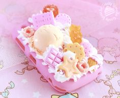 Sweets decoden cell phone case.