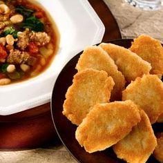 Hot Water Hoecakes...AKA Fried Cornbread.....serve with Chili-Mac....brings back memories