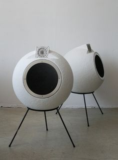 Elipson Ball speakers | FRANCE, c.1972 | 40cm diam.