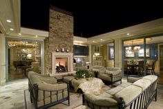 U Shaped House Design Ideas, Pictures, Remodel, and Decor - page 12