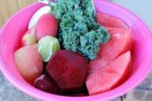 Pink Kale juice