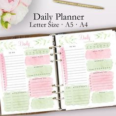 2019 planner printable daily planner pages weekly planner 2019