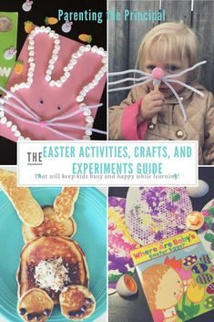 Easy Easter Activities and Crafts for Kids - Parenting the Principal
