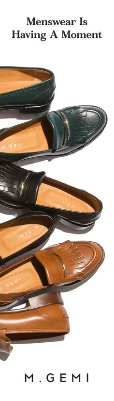 Handmade in an esteemed men's shoe factory, kiltie fringe brings a flirty vibe to this loafer.