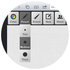 Web Whiteboard: Use your computer, tablet or smartphone to easily draw sketches and collaborate with others.