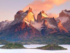 lake pehoe, chile | Fernado de Noronha_Pernambuco_Brasil