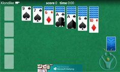 Windows Phone 8 için solitaire oyna
