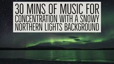 30 mins of Music for Concentration with a Snowy Northern Lights Background Studying requires you to work with prolonged concentration. This 30 mins of music . Gold Wallpaper, Wallpaper Quotes, Live Cricket Match Today, Chill Out Lounge, Makeup Brush Uses, Money Making Crafts, Work Music, Lounge Music, Music Backgrounds