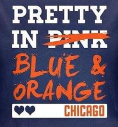Yep. Blue and orange are much more my colors than pink ;)