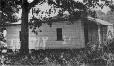 Birthplace of Elvis Presley on old Satillo Road before Restoration, Tupelo, Mississippi