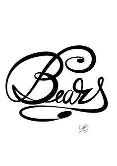 -Bears B&W!