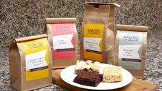 Gourmet baking mixes - for when there's not enough time to actually bake from scratch!