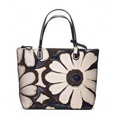 2013/SS■POPPY ELEVATED FLOWER TOTE B4 / SLATE MULTICOLOR 1