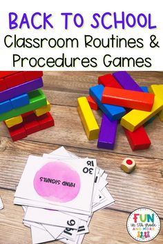 Are you ready to head back to school? It's time to start thinking about your classroom management strategy this year. I am sharing 7 of my favorite classroom procedure games that are sure to keep your students engaged and motivated. These classroom management games and activities will help build a classroom community from the start. Students get to learn all about teamwork and the expectations of the class. These back to school activities are sure to make it on your first week lesson plans. Classroom Routines And Procedures, Classroom Incentives, Whole Class Rewards, Student Rewards, Get To Know You Activities, First Day Of School Activities, Management Games, Classroom Management Strategies, Back To School Bulletin Boards