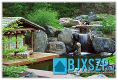Gorgeous Home landscape waterfalls read more on http://bjxszp.com/home-landscaping/home-landscape-waterfalls/