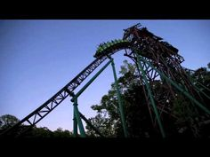 Coaster Thrills at Busch Gardens Williamsburg #rollercoaster #thrills #entertainment #fun #themepark #video