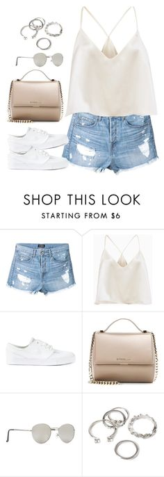 """Untitled#4563"" by fashionnfacts ❤ liked on Polyvore featuring Ström, NIKE, Givenchy and Forever 21"