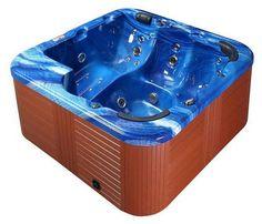 Outdoor Whirlpool Milano für bis zu 6 Personen NEU