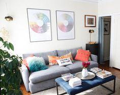 House Tour: A Designer's Warm, Modern LA Apartment   Apartment Therapy