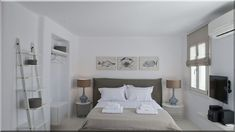 hálószoba mediterrán vendégházban Kisméretű hálószoba ötletek Szép hálószoba ötletek Fehér hálószoba ötletek Modern hálószoba színek Romantikus hálószoba ötletek Hálószoba ötletek 2020 Modern hálószoba ötletek Hálószoba ötletek 2019 (Szép házak, luxuslakások 8) Bed, Furniture, Home Decor, Decoration Home, Stream Bed, Room Decor, Home Furnishings, Beds, Home Interior Design