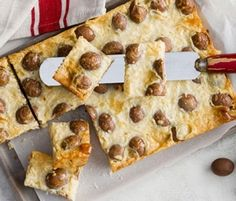 Easter Egg Slice: Set a date with the kids to get into the kitchen and make these Easter goodies. http://www.bakers-corner.com.au/recipes/slices/easter-egg-slice/