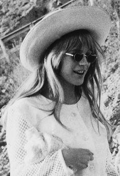 Marianne Faithfull in San Remo, Italy, 1967