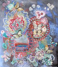 "Saatchi Online Artist: Lia Porto; Acrylic, 2013, Painting ""Espacio para habitar (a place where to live)"""