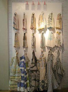Anthropologie Visual Merchandising Workshop by Sarah Cunningham, via Behance