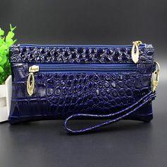 Luxury Handbags Women Bags Designer Wristlet Wallet Purse Black Women Clutch Top-handle Bags Iphone Pu Leather