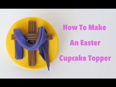 ▶ How To Make An Easter Cupcake Topper: Collaboration With Pink Cake Princess - YouTube