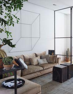 Frank Nederhof appartement rénové à Amsterdam / art: Antonino Sciortino