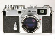 Nikon S3 camera. Professional quality 35mm rangefinder cameras as usable today as they were over 40 years ago when they were introduced.
