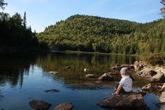 Parc régional de la Chute-à-Bull - Parcs régionaux de la MRC de Matawinie Parcs, Camping, Mountains, Water, Travel, Outdoor, Pathways, Welcome Post, Armband