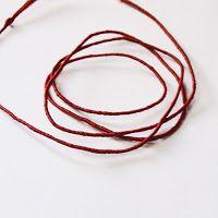Medieval Silkwork: How to make gimp thread, Part I