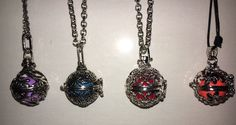Harmony Chime Necklaces Hearts, Butterflies, Hibiscus or Vines Great Xmas Gift   | eBay