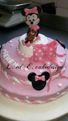 Cake design : minnie disney