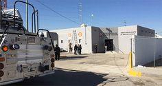 Desalojan dependencia de Fiscalía por fuga de gas en Juárez | El Puntero