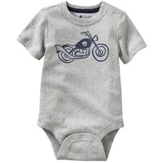 Gap Cool graphic bodysuit. (100 SEK) ❤ liked on Polyvore featuring baby and baby boys bodysuits