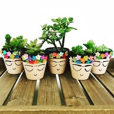 Mothers Day Crafts For Kids Discover Style Memphis design small planter for succulent or cactus - modern abstract geometric - choose your color - color block Style Memphis design small planter for succulent or Painted Plant Pots, Painted Flower Pots, Small Flower Pots, Painted Pebbles, Flower Pot Crafts, Clay Pot Crafts, Plant Crafts, Garden Crafts, Diy Flowers