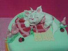 cute little kitty - Cake by martina bikovska