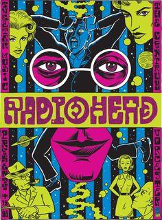 radiohead poster - Buscar con Google